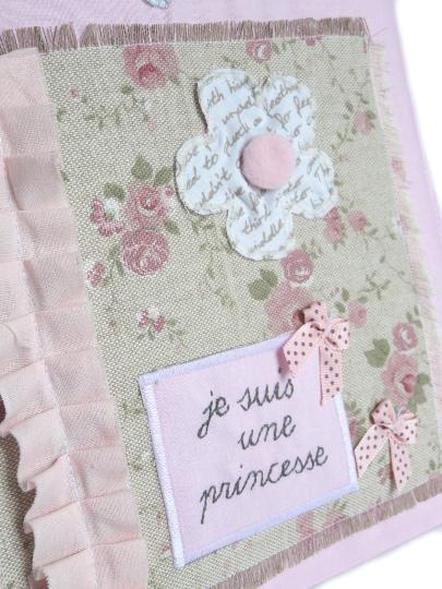 album photo je suis une princesse carnet de souvenir personnalisable rose unique et. Black Bedroom Furniture Sets. Home Design Ideas
