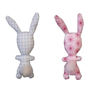 """Accessoire pour poupée , doudou lapin collection """" Tendresse """" . Pour enfant ."""