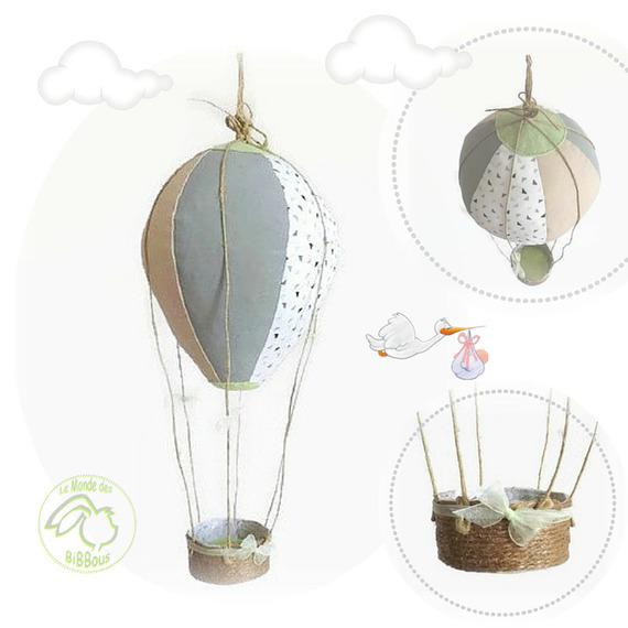montgolfiere a suspendre