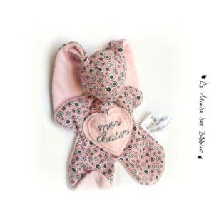 Doudou lapin pour bébé RESERVE CINDY