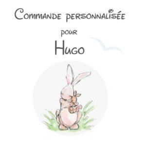 Commande personnalisée  Réservée  Marjorie pour ♥ Hugo ♥ .